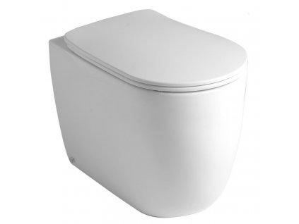 KERASAN - NOLITA WC mísa stojící NORIM, 35x43x55 cm, spodní/zadní odpad 531801