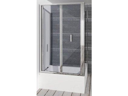 POLYSAN - DEEP obdélníkový sprchový kout 1000x750mm L/P varianta, čiré sklo MD1910MD3116