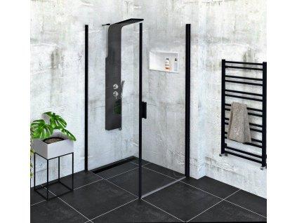 POLYSAN - Zoom Line Black obdélníkový sprchový kout 800x900mm L/P varianta ZL1280BZL3290B