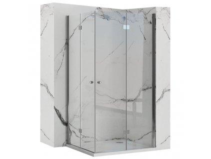 REA - Skládací sprchový kout Fold N2 70x70 REA-K1950