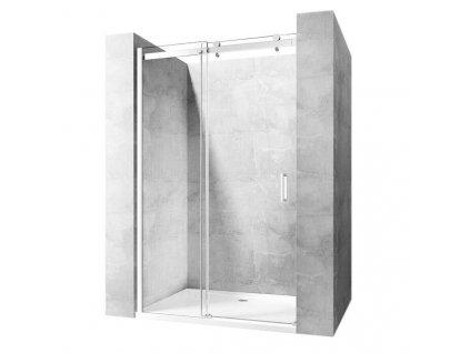 REA - Posuvné sprchové dveře Nixon-2 120 levé REA-K5002