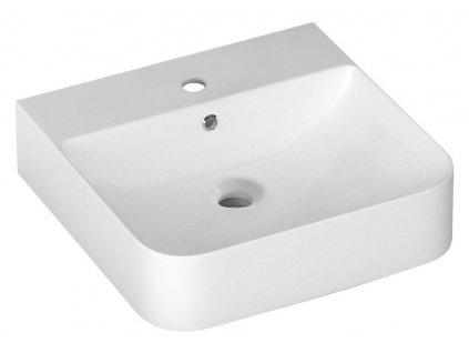 ISVEA - SOTT AQUA umyvadlo 51x50 cm, závěsné/na desku 10SQ51051