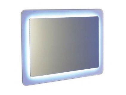 SAPHO - LORDE LED podsvícené zrcadlo s přesahem 900x600mm, bílá NL602