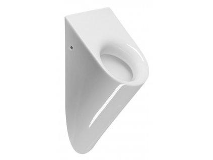 GSI - PURA urinál se zakrytým přívodem vody, 36x61x25 cm, bílá ExtraGlaze 889711