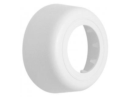 BONOMINI - Rozeta 85/40 mm, výška 33 mm, ABS/bílá RS0181