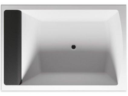 Riho Savona obdélníková vana 190x130 cm, bílá