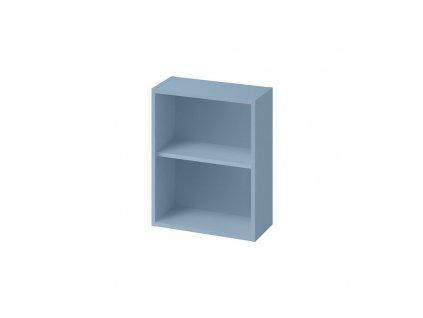 CERSANIT - Modulová otevřená dolní, boční skříňka LARGA 20 modrá S932-094