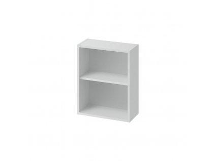 CERSANIT - Modulová otevřená dolní, boční skříňka LARGA 20 šedá S932-095
