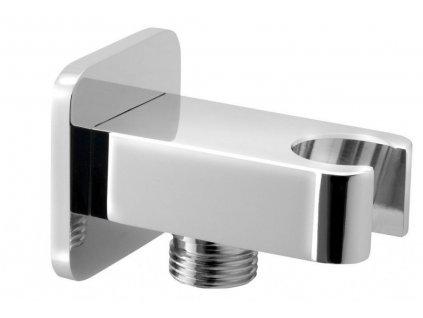 SAPHO - JUMPER držák sprchy s vyústěním, chrom JM540