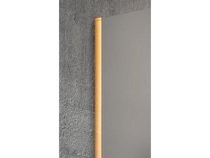 GELCO - VARIO stěnový profil 2000mm, zlatá GX1016