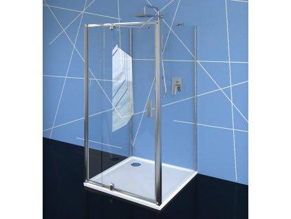 POLYSAN - EASY LINE třístěnný sprchový kout 800-900x800mm, pivot dveře, L/P varianta, čiré sklo EL1615EL3215EL3215