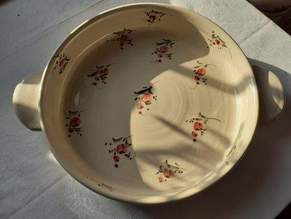 Forma na koláč  hladká - vistárie červená