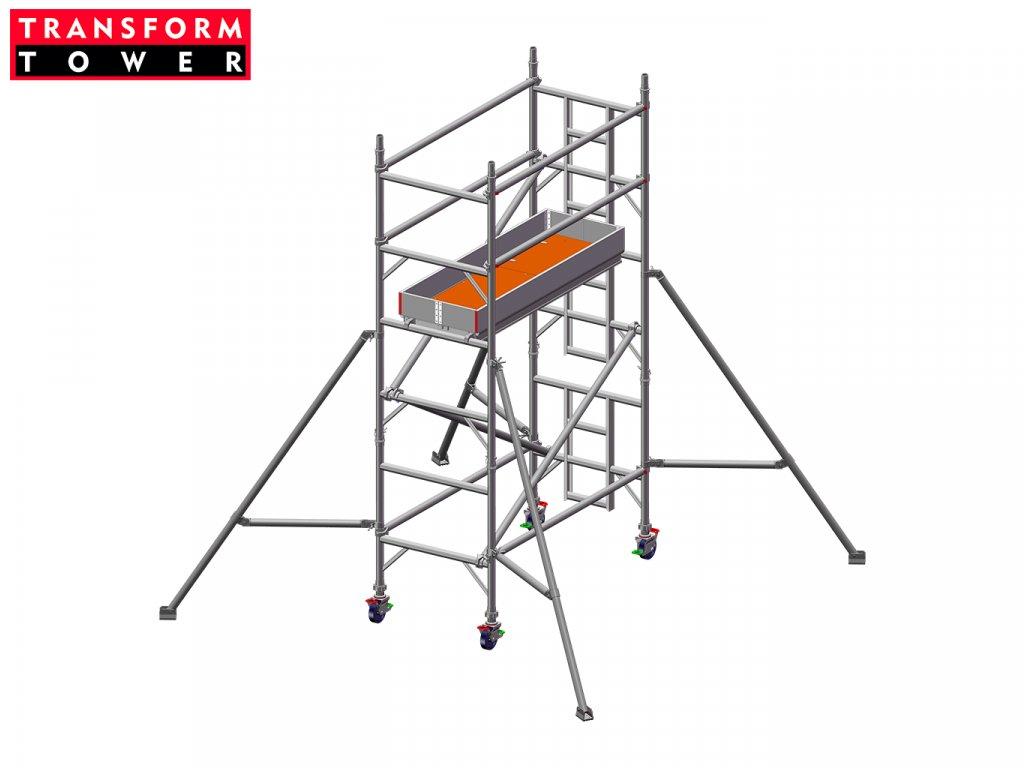 Profesionální hliníkové lešení Transform Tower 00001 3