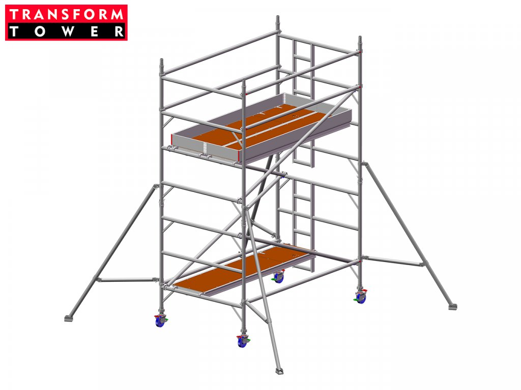 Profesionální hliníkové lešení Transform Tower 00026