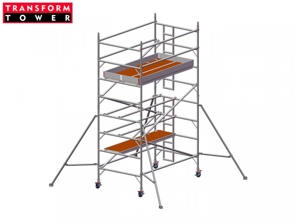 Profesionální hliníkové lešení Transform Tower 00027