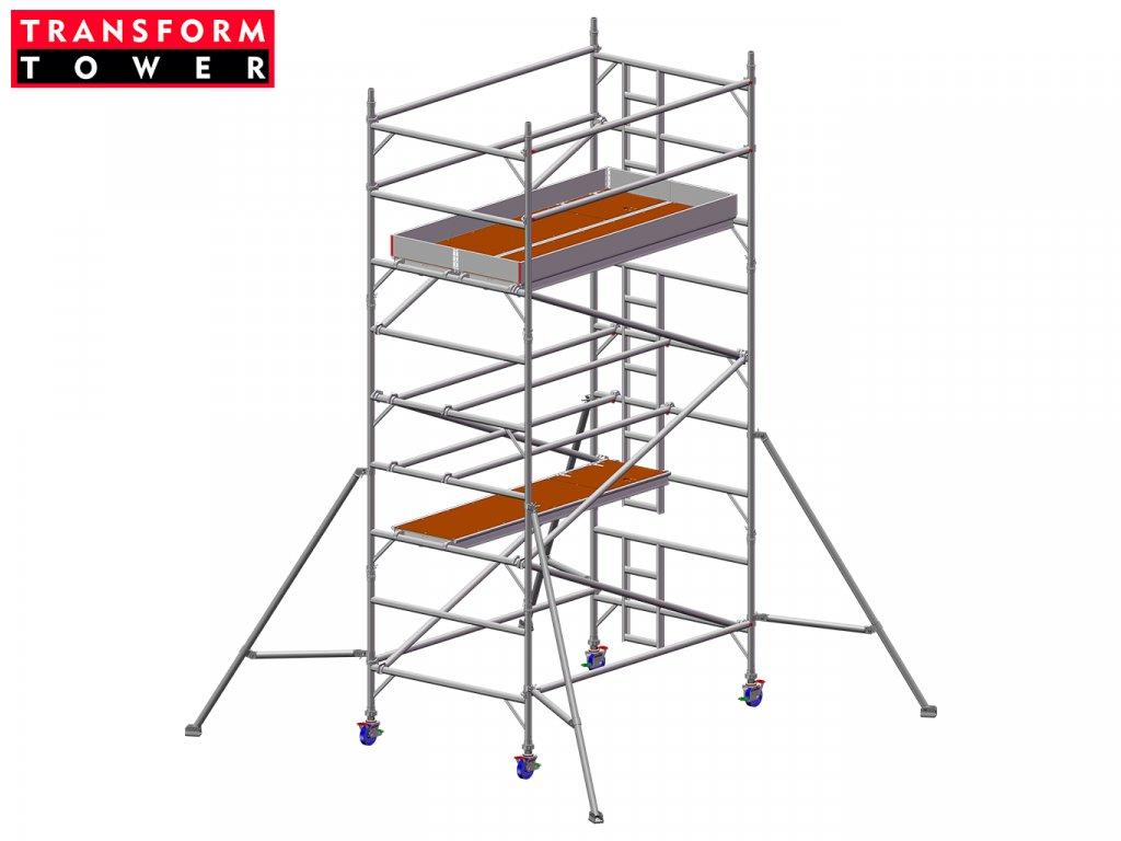 Profesionální hliníkové lešení Transform Tower 00028