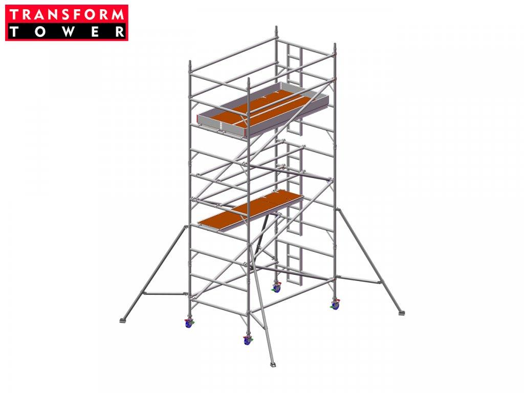 Profesionální hliníkové lešení Transform Tower 00029