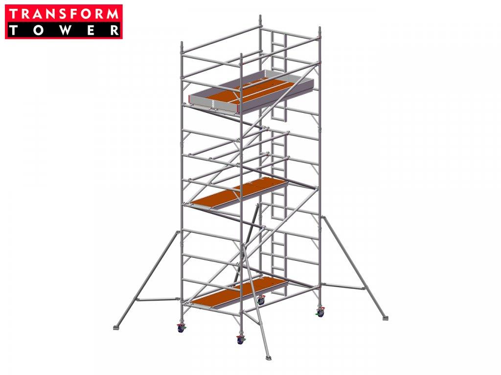 Profesionální hliníkové lešení Transform Tower 00030