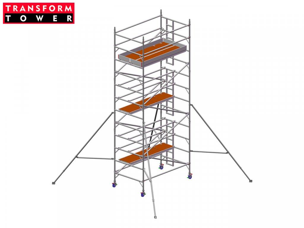 Profesionální hliníkové lešení Transform Tower 00031