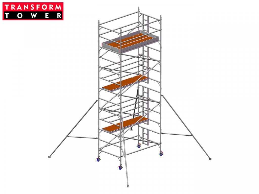 Profesionální hliníkové lešení Transform Tower 00032
