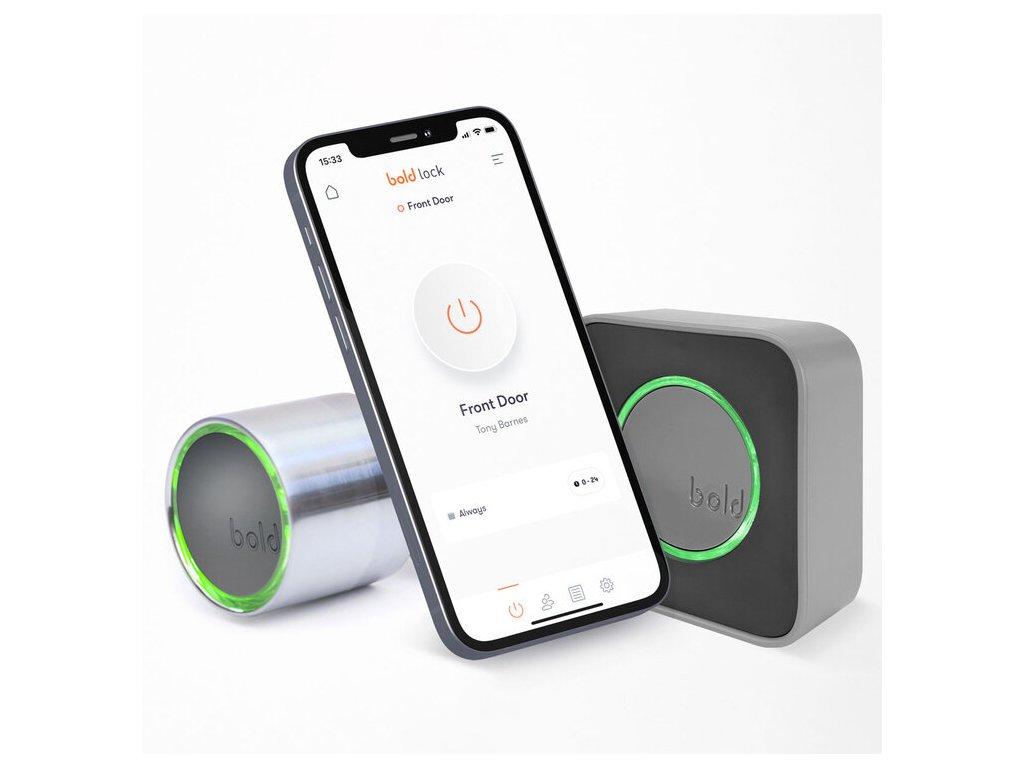 Chytrý zámek ovládaný přes Bluetooth