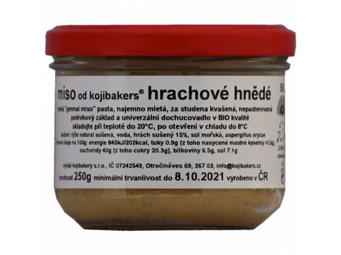 miso hrachove hnede 250g