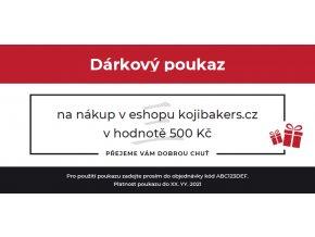 voucher 500 czk