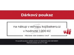 voucher 1000 czk