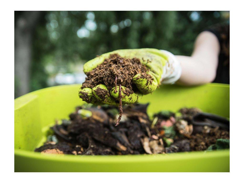 Kompostér  pro restaurace, stravovny a jídelny