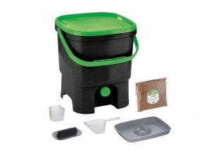 Kompostér Bokashi Organko - černá/zelená