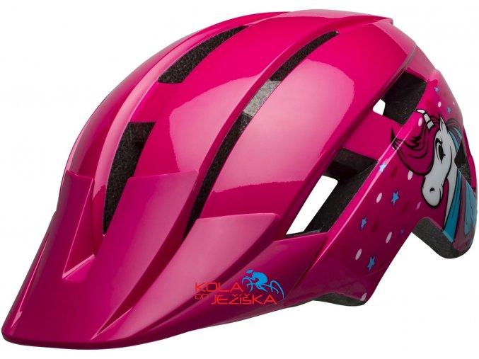 přilba Bell Sidetrack II Toddler 2020 Pink Unicorn