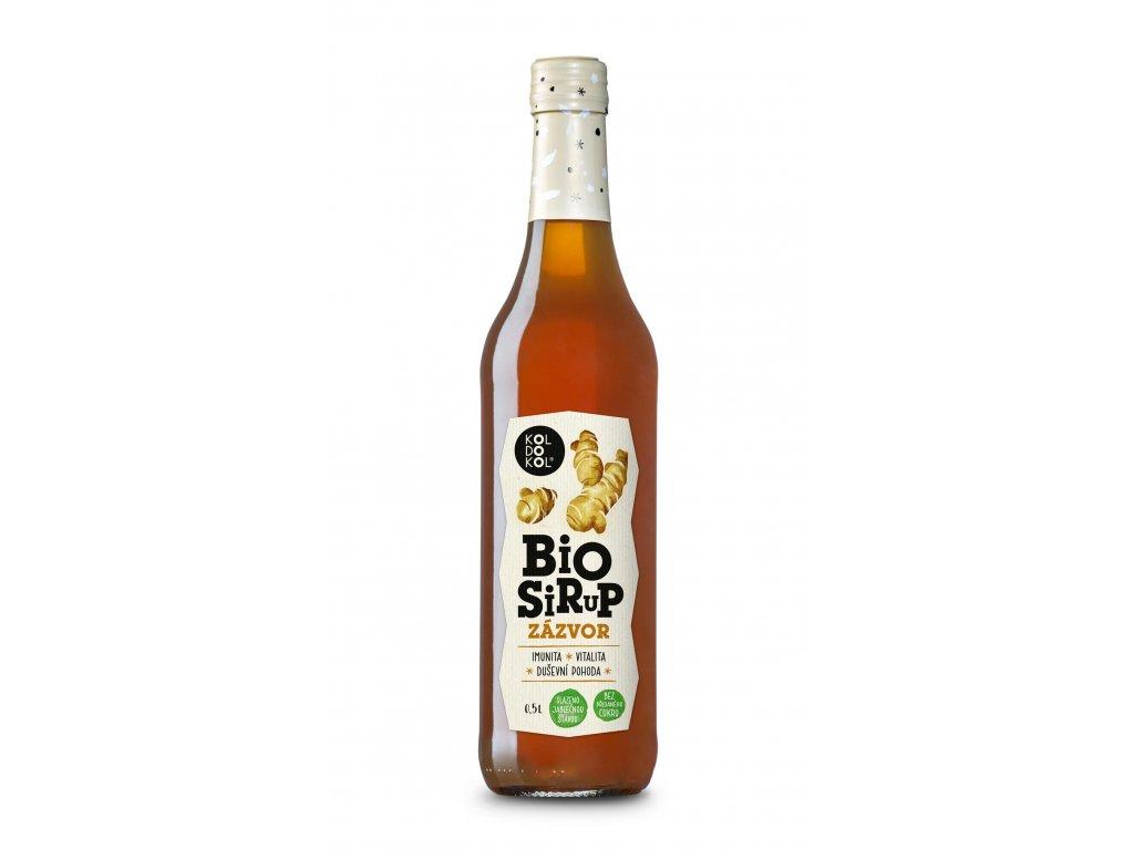 BioSirup Zázvor 0,5l web