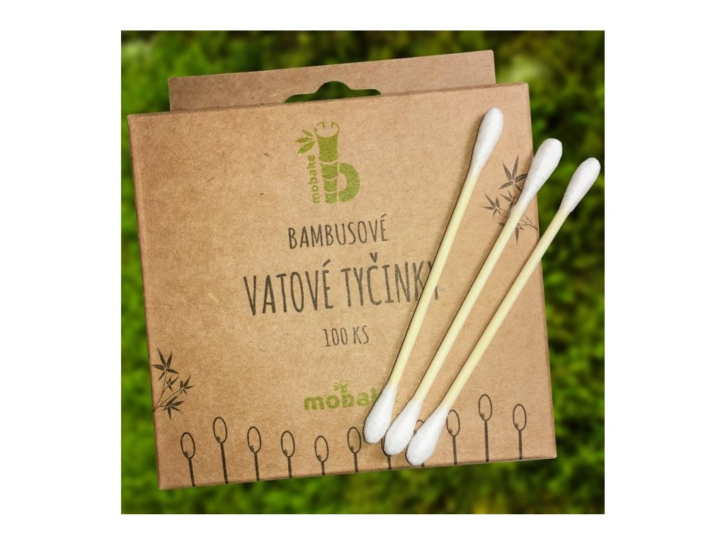 vatove tycinky bambusove 100ks mobake 772