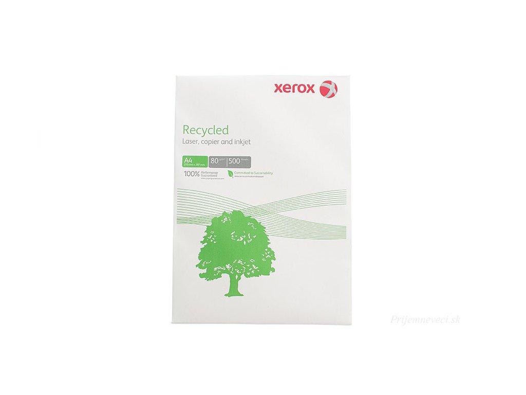 recyklovany papier xerox recycled