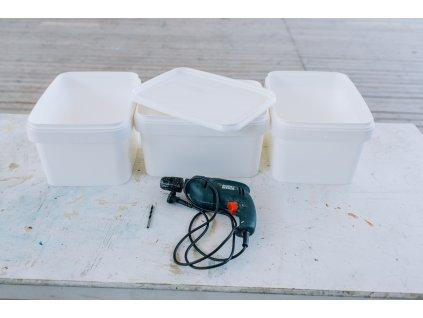 Nádoby na výrobu domáceho kompostéru