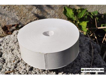 0007684 papierova lepiaca paska biela 200 metrov