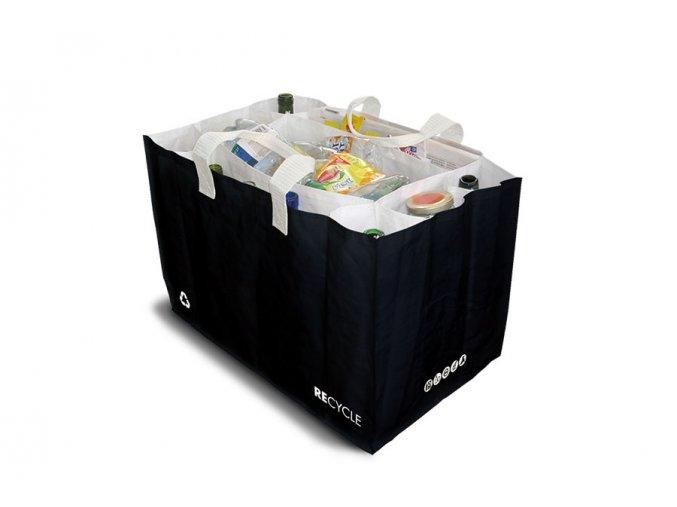 0009034 taska na triedenie odpadu cierna sakatri