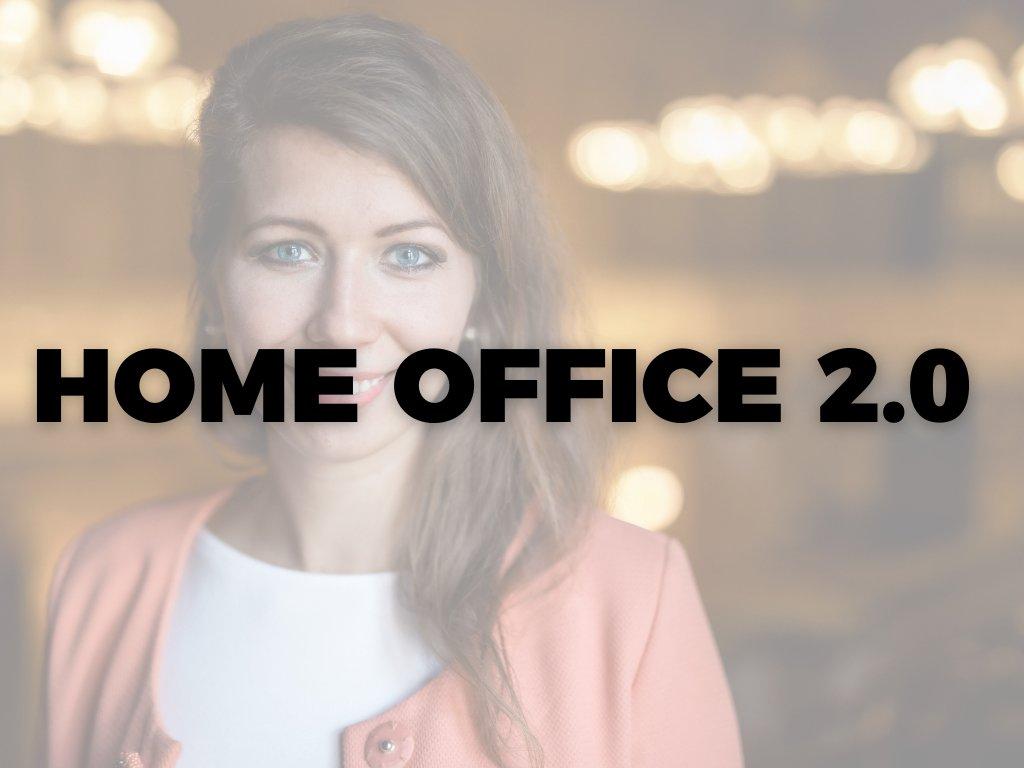 Záznam z webináře HOME OFFICE 2.0: Jak pracovat na dálku?
