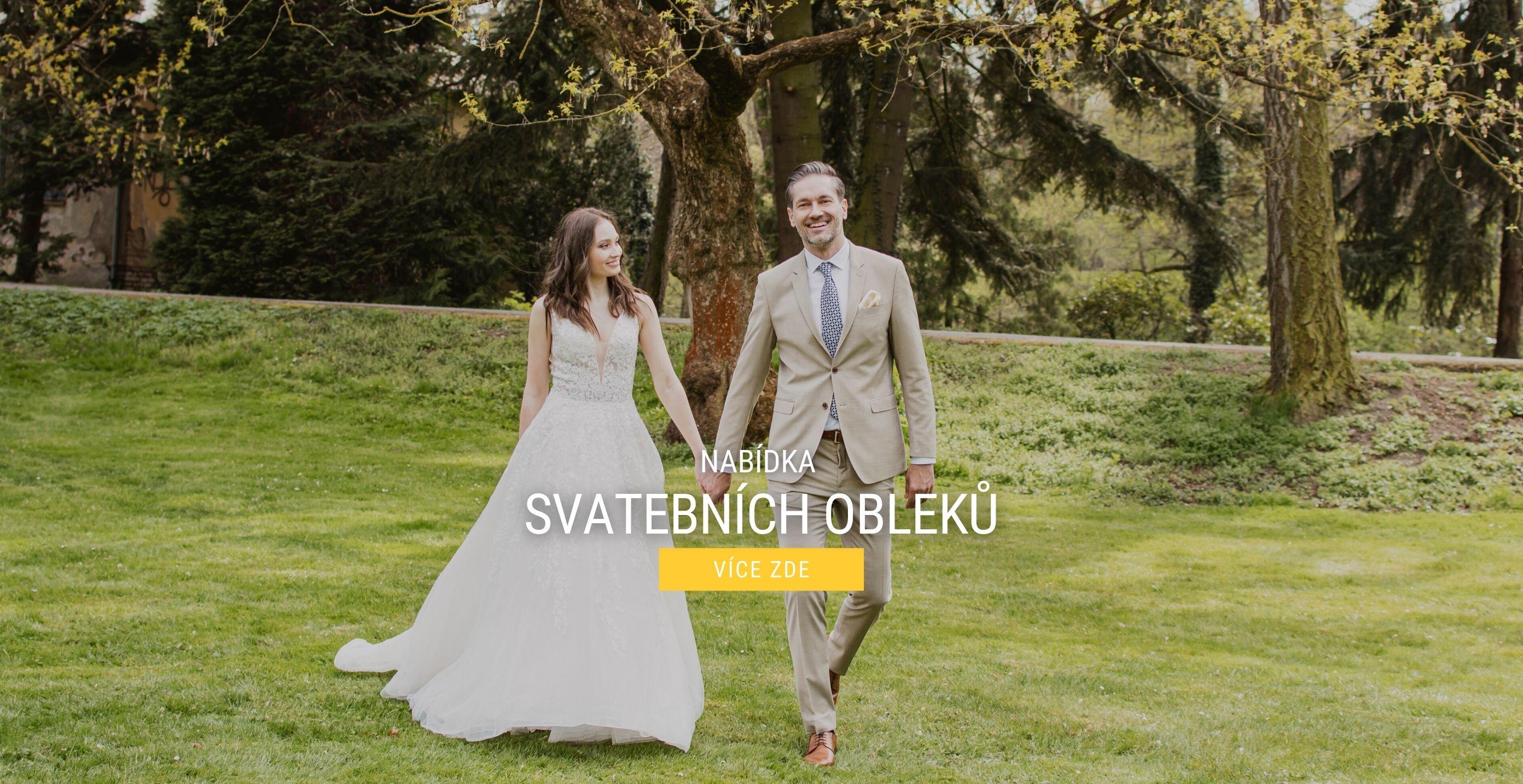 Nabídka svatebních obleků