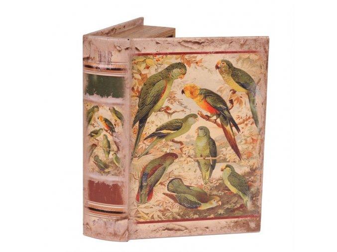 Box ve tvaru knihy 23 cm