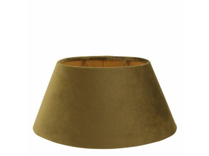 Stojací lampa s oválným stínidlem 30 cm
