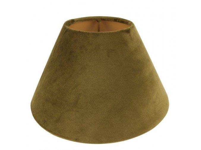 Stojací lampa s kulatým stínidlem na clip