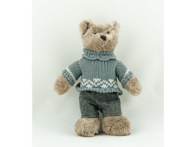 Medvěd v pleteném svetru