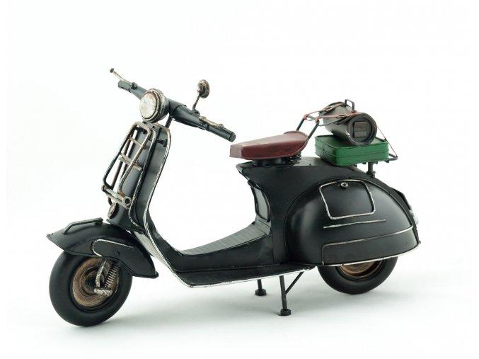 Retro dekorativní motorka
