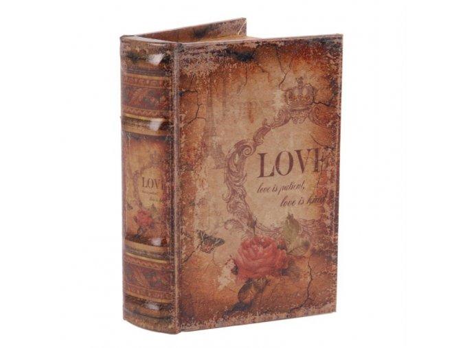 Box ve tvaru knihy 15 cm