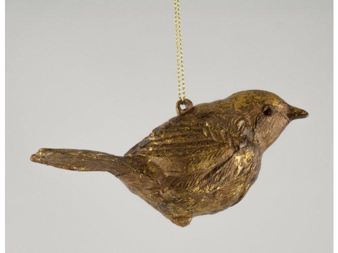 Set ptáček zlatý závěsný