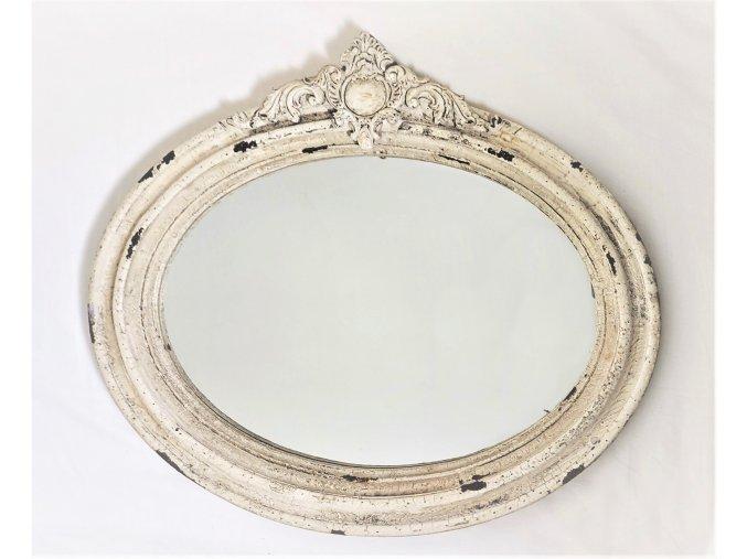 eshop tom zrcadlo ovál krémové 1 (2)