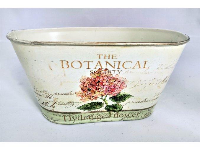 Dekorační nádoba hortenzie růžová