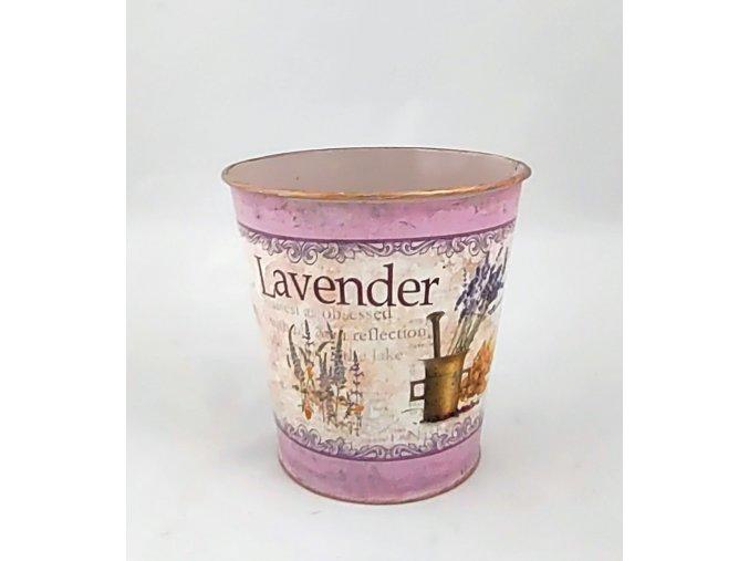 eshop tom dekorační nádoba levandule fialová 1