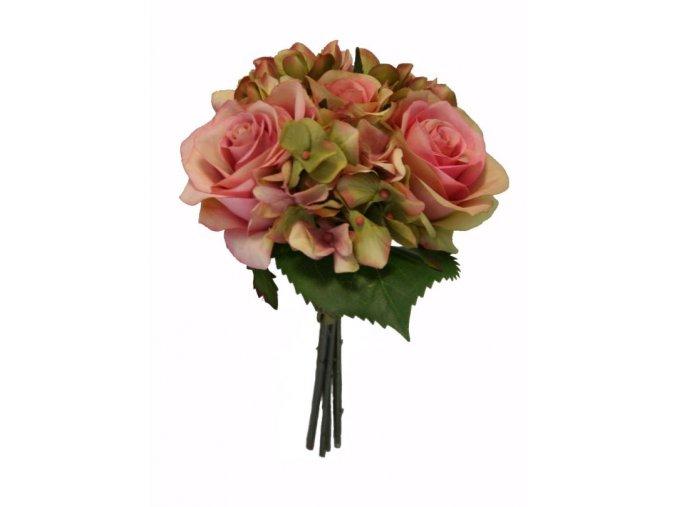 Růže a hortenzie 21 cm